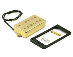 Kent Armstrong Magnum PAF Style Gold Cover 12 Pole Pickup